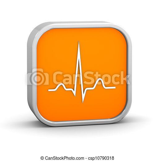 ECG Sign - csp10790318