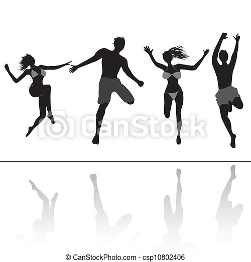 Group Girls Clipart Adult Girls And Boys Group in