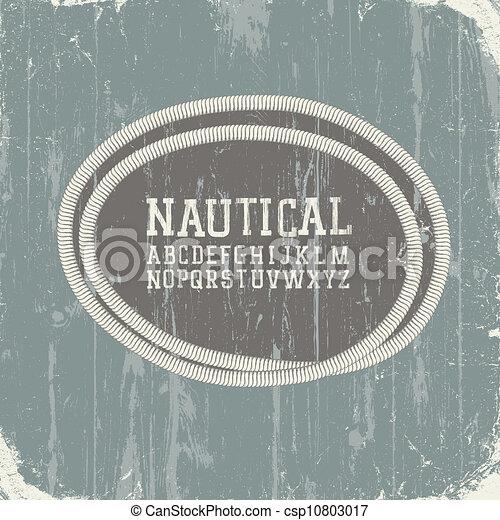 Vintage Nautical Vector Vector Vintage Nautical Card