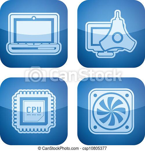 Computer Parts Logos Computer Parts Csp10805377