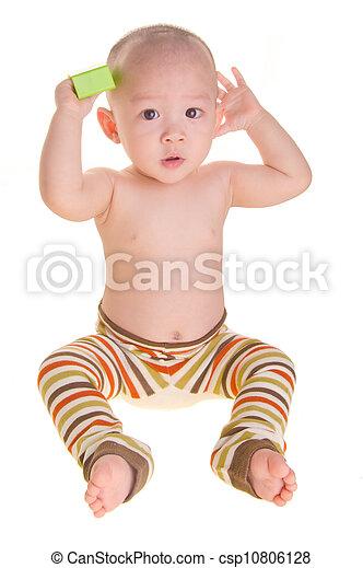 Stock foto van baby jongen achtergrond aziaat jongen baby jongen csp10806128 zoek - Foto baby jongen ...