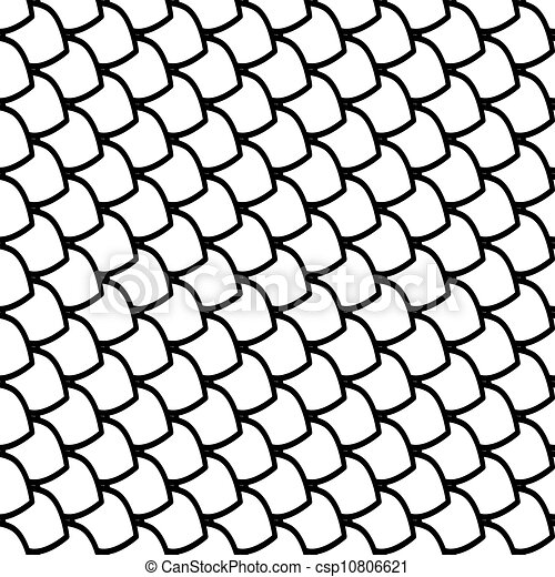 Vector illustration of fish scales texture vector art for Free scale drawing software