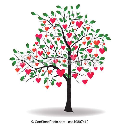 Heart Tree Clip Art