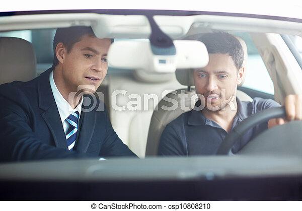 Sale of automobiles - csp10808210