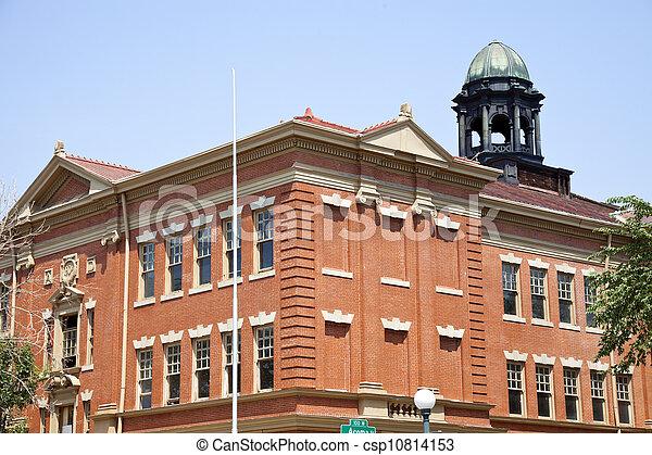 Historic architecture of Denver - csp10814153