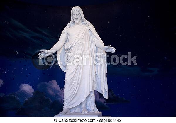 Jesus Christ Statue - csp1081442