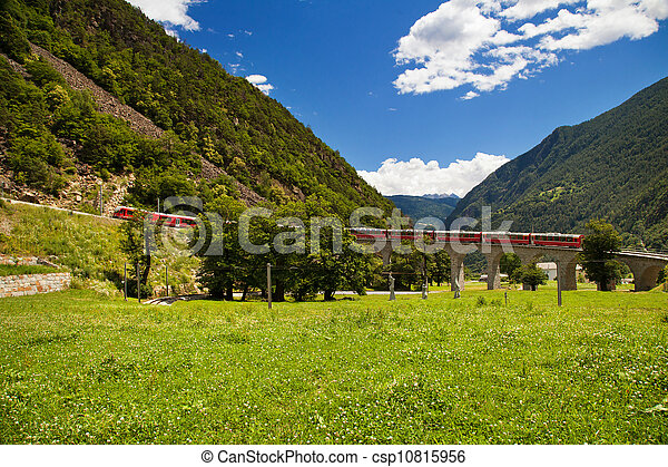 World famous swiss train  - csp10815956