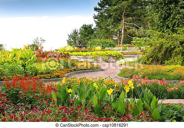 Formal Garden - csp10816291