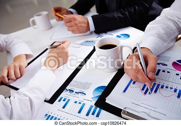 Charts and graphs - csp10826474