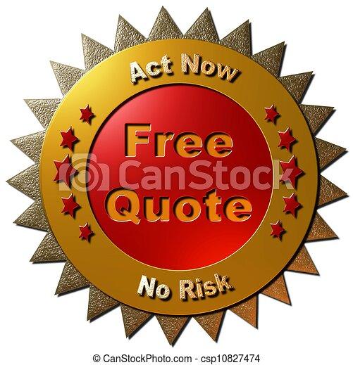 Quote Icons Free Free Quote Csp10827474