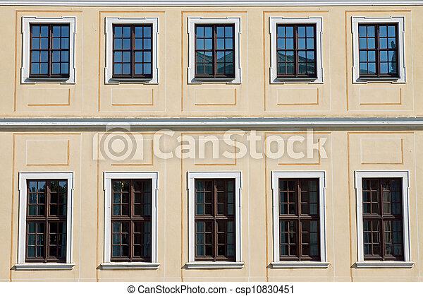 Historic facade in Dresden - csp10830451