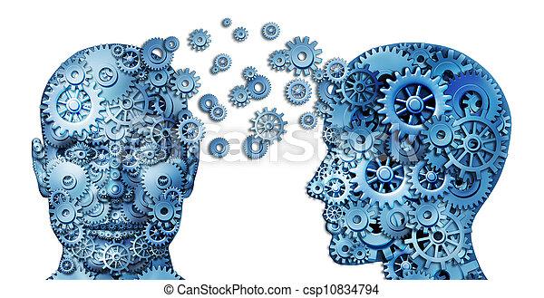 Learn And Lead Teamwork - csp10834794