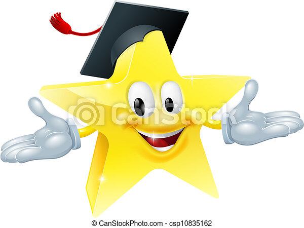 Education star man - csp10835162