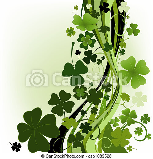 design for St. Patrick's Day - csp1083528