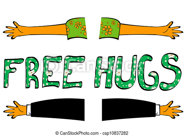 Clipart Hugs - Synkee