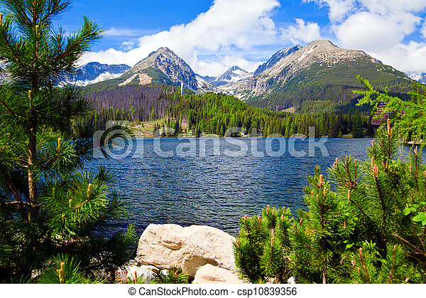 Lake in Slovakia - csp10839356