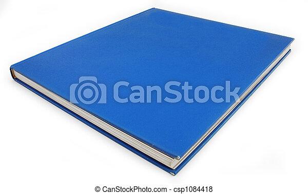 Blue Book Background Democrat Politics concept - csp1084418