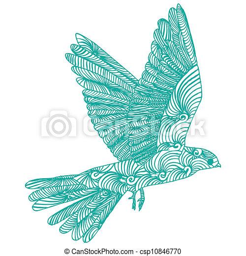 Illustrations vectoris es de oiseau mouche bleu oiseau mouche csp10846770 recherchez des - Oiseau mouche dessin ...