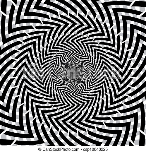 Optical Illusion Logos Optical Illusion of Motion