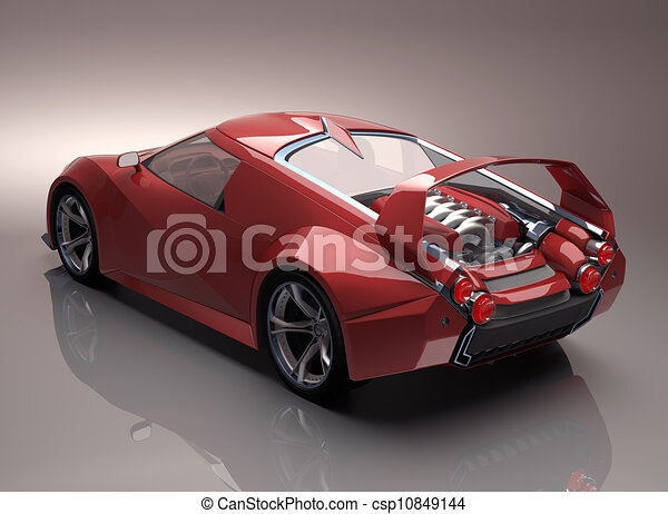 Supercar Clipart And Stock Illustrations Supercar Vector