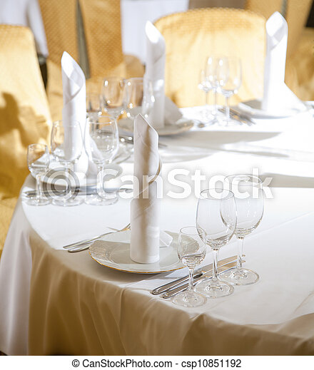 Place setting - csp10851192
