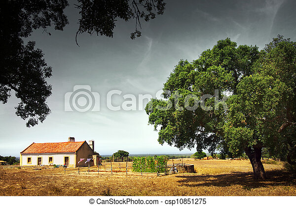 Little Rural House - csp10851275