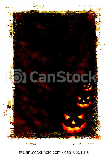 Halloween holiday card - csp10851810