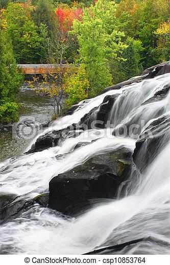 Bond Falls Michigan - csp10853764