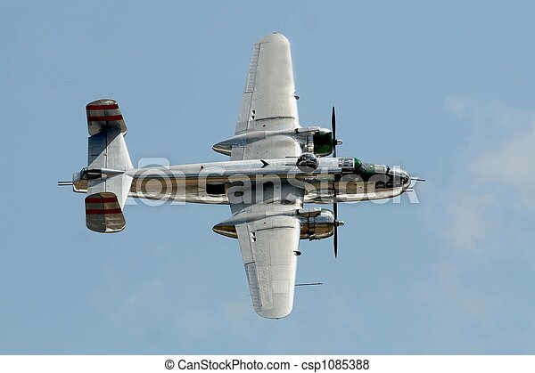 B25 Vintage Bomber - csp1085388