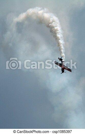 stunt airplane - csp1085397