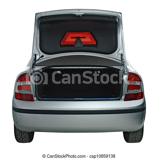 photos de voiture vue ouvert arri re coffre rear vue de a csp10859138 recherchez. Black Bedroom Furniture Sets. Home Design Ideas