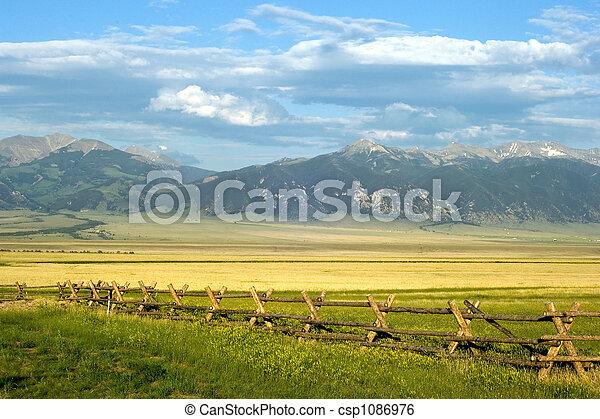 Montana Ranch - csp1086976
