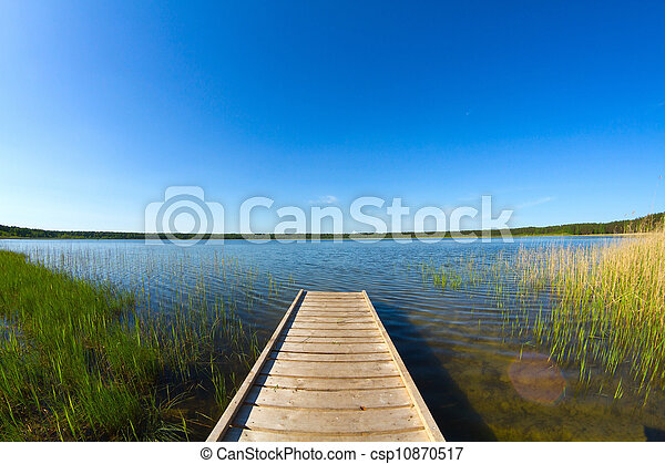 pier on the lake - csp10870517