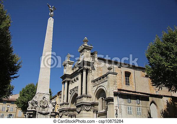 Madeleine Church in Aix-en-Provence - csp10875284