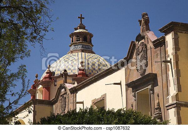 Dome Church Mexico - csp1087632