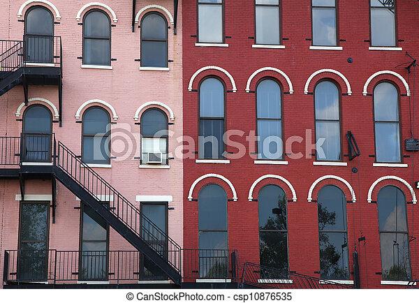 Historic building architecture - csp10876535