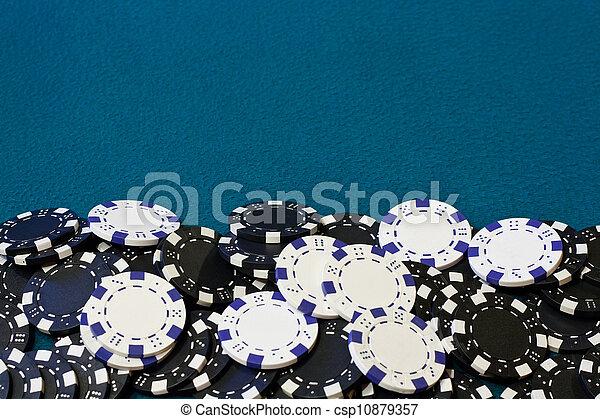 gambling chip frame - csp10879357
