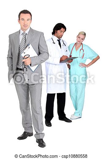 Medical team - csp10880558
