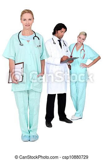 Medical team - csp10880729