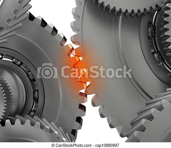 Overloaded mechanism - csp10880997