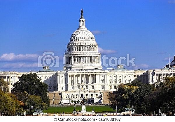 Us Capitol - csp1088167