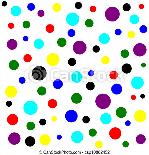 Colorful Dots Pattern Color Dots Pattern