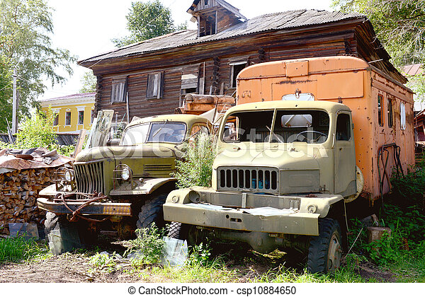 Old russian automobile - csp10884650
