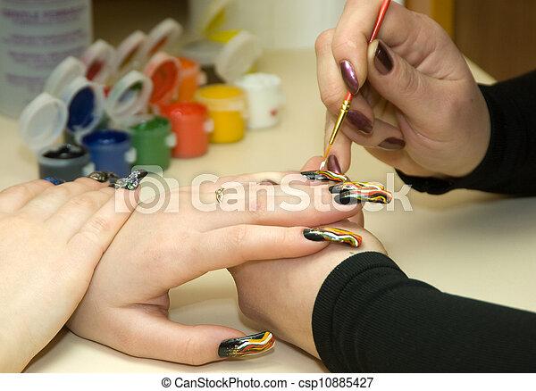 manicure - csp10885427
