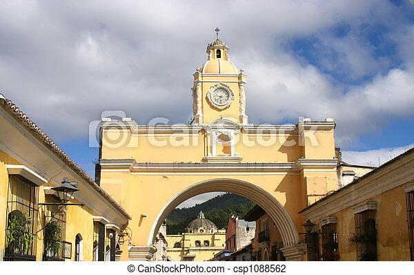Colonial arch - csp1088562