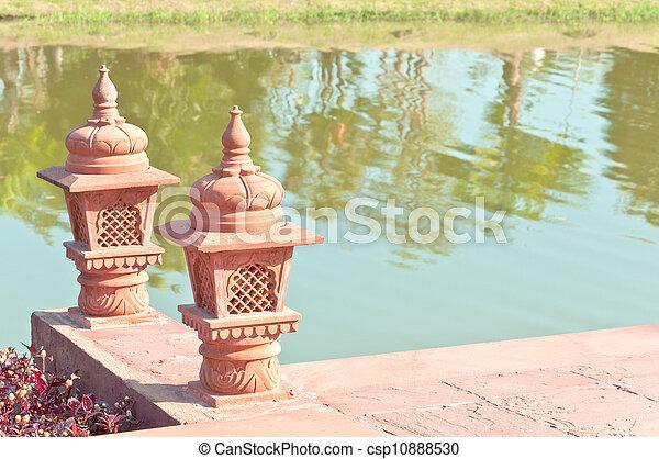 pottery lanterns - csp10888530
