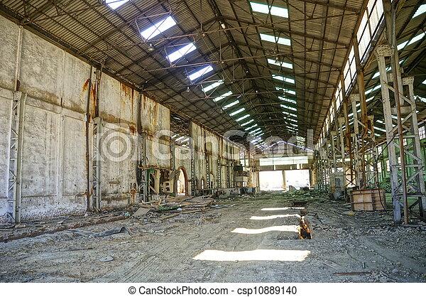 Deserted factory - csp10889140