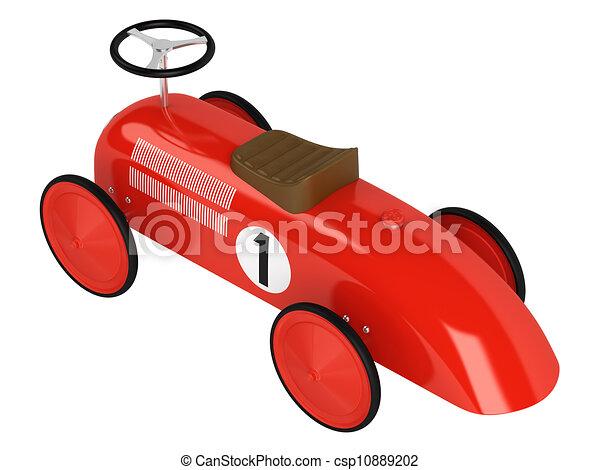 Toy racing car - csp10889202