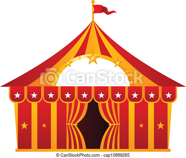 Clip Art Circus Tent Clipart circus tent illustrations and clipart 4551 royalty red isolated on white illustration
