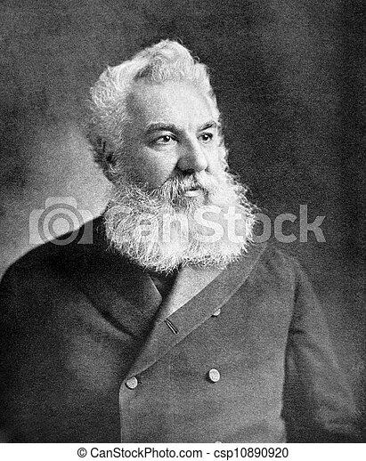 Alexander Graham Bell - csp10890920